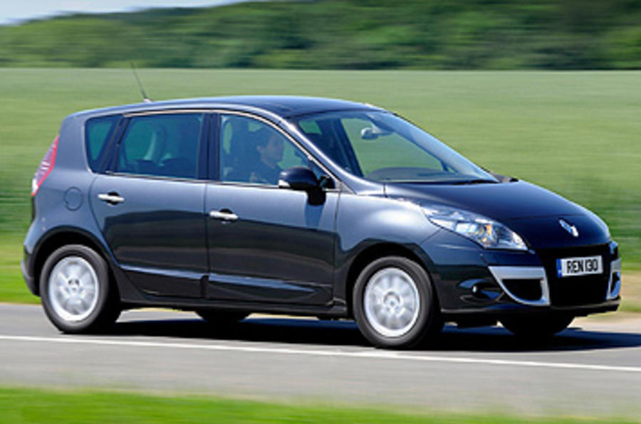 Renault Scenic side profile
