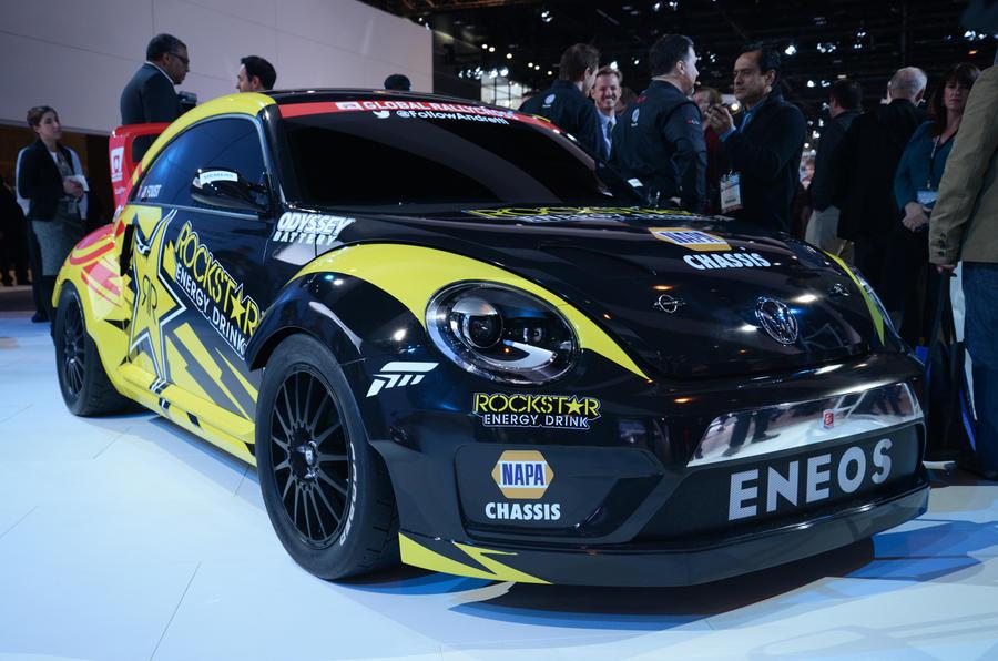 Extreme 560bhp Volkswagen Beetle rallycross car unveiled