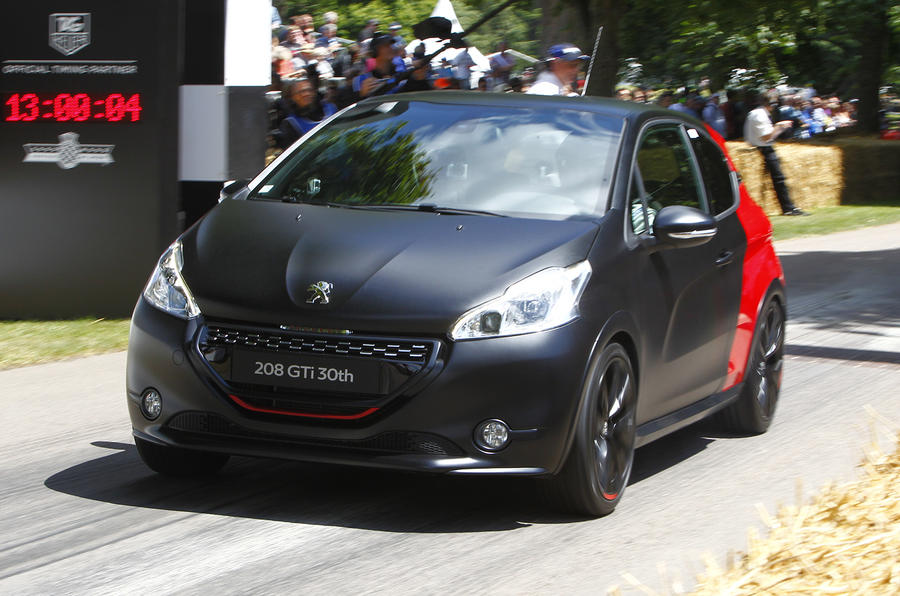 peugeot 208 gti 30th anniversary edition to cost 21 995 autocar. Black Bedroom Furniture Sets. Home Design Ideas