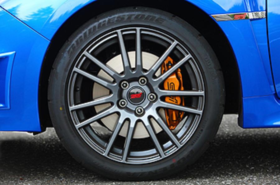 Subaru Impreza WRX STI alloy wheels