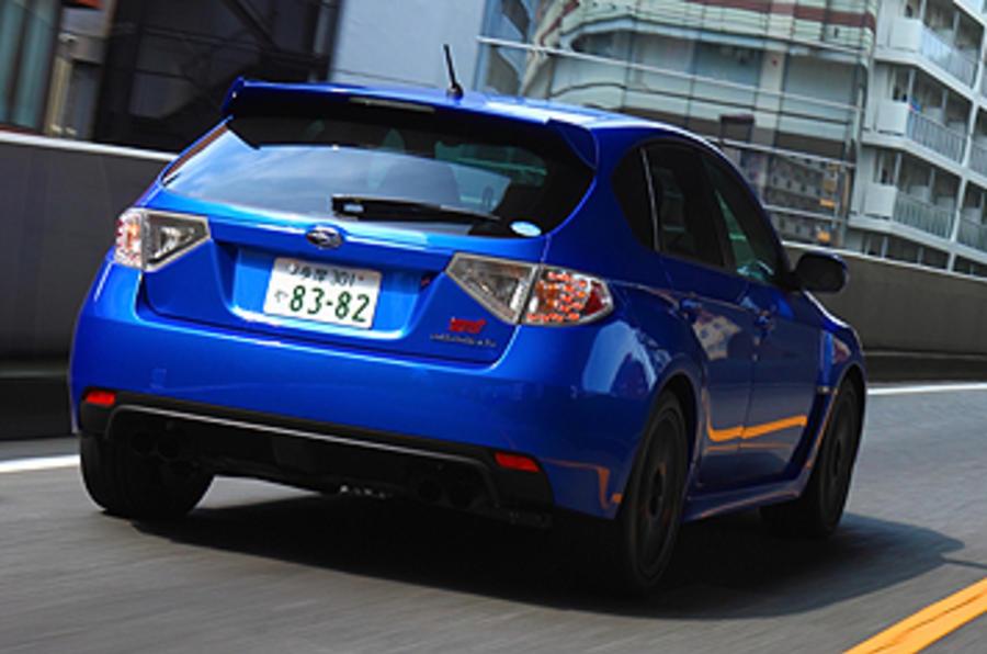 Subaru Impreza WRX STI rear