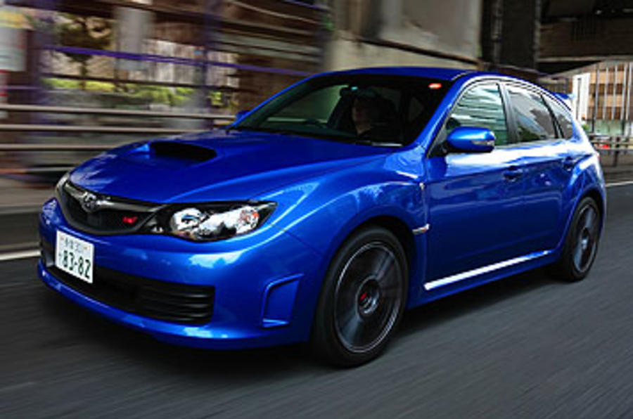 subaru impreza wrx sti spec c review autocar. Black Bedroom Furniture Sets. Home Design Ideas