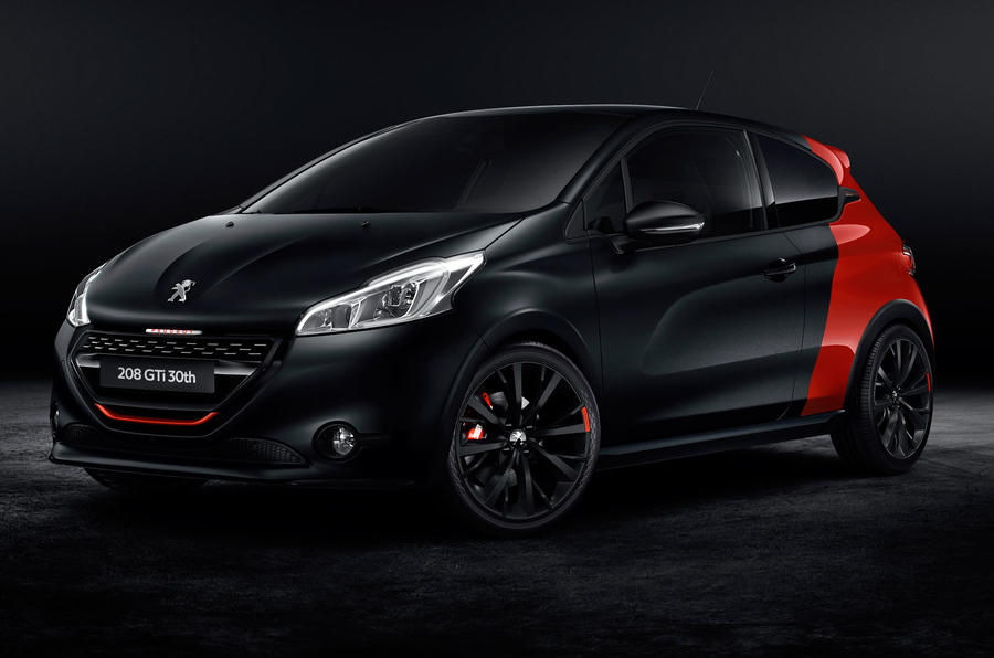 Peugeot celebrates 30 years of GTi with new 208