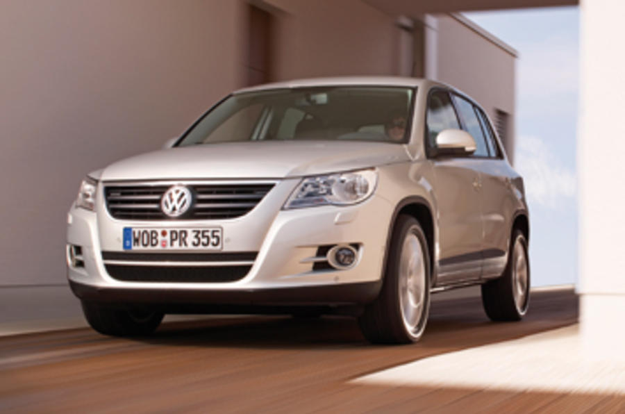 volkswagen tiguan 2 0 tdi 2007 review autocar. Black Bedroom Furniture Sets. Home Design Ideas