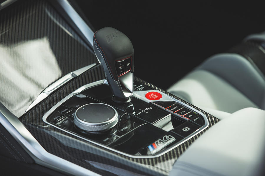 21 BMW M4 Competition 2021 RT console centrale