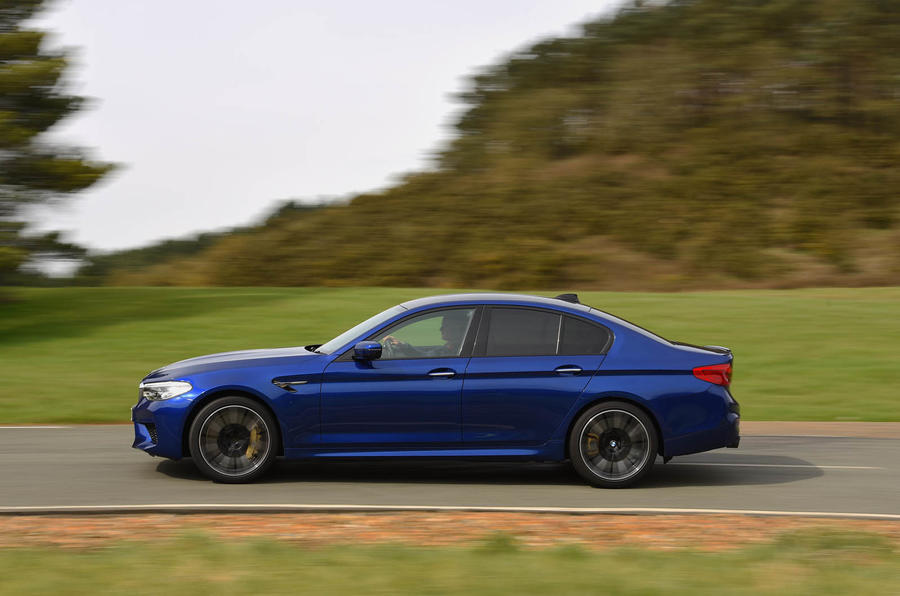 BMW M5 2018 review side