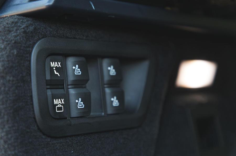 BMW X7 2020 : révision de l'essai routier - contrôles des sièges arrière