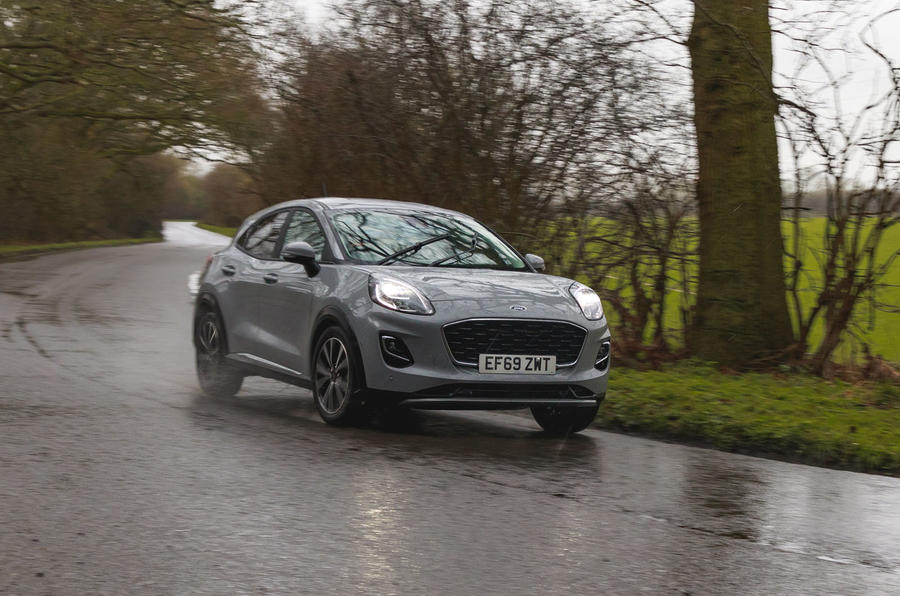 Ford Puma 2020 road test review - on the road front