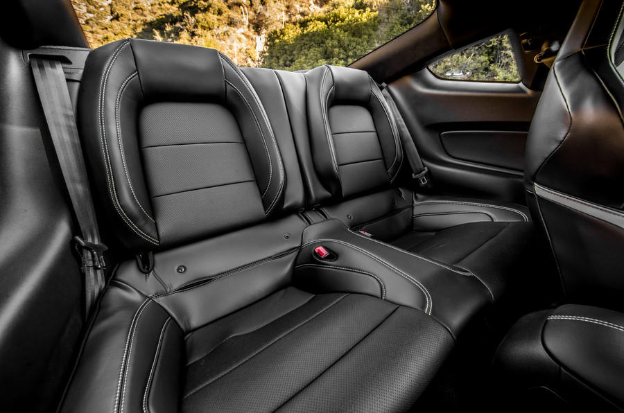 Ford Shelby Mustang GT500 2020 road test review - rear seats