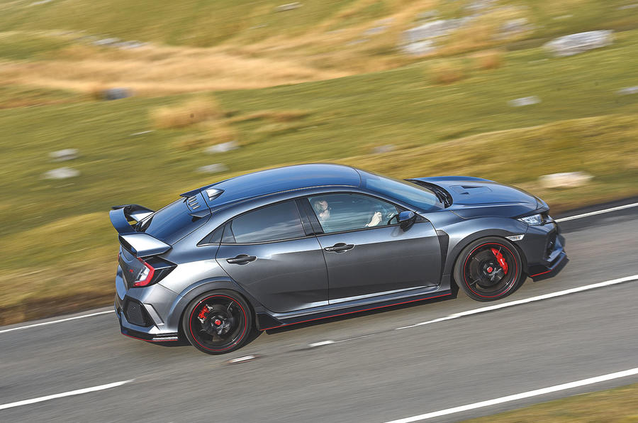 Honda Civic Type R 2019 road test review - hero side