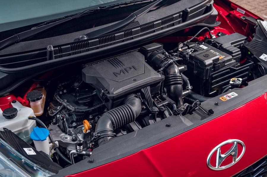 Hyundai i10 2020 road test review - engine
