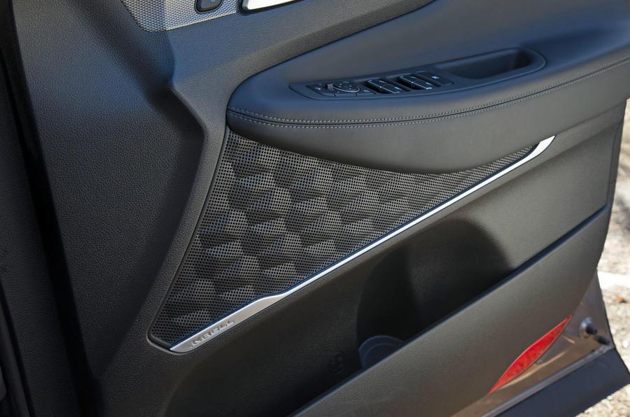 Hyundai Santa Fe 2019 road test review - door cards