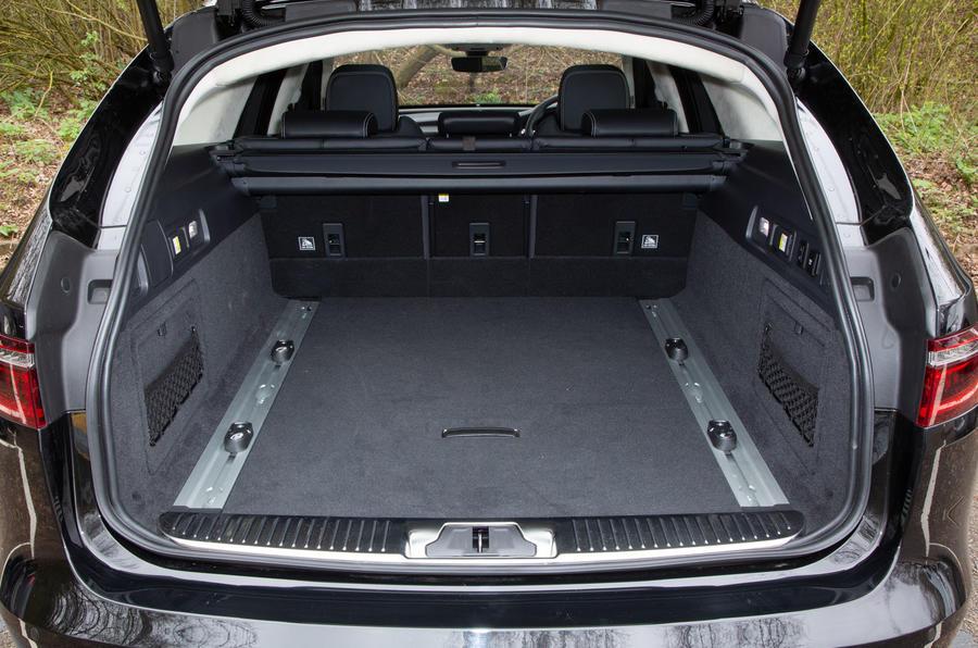 Jaguar XF Sportbrake 2019 road test review - boot