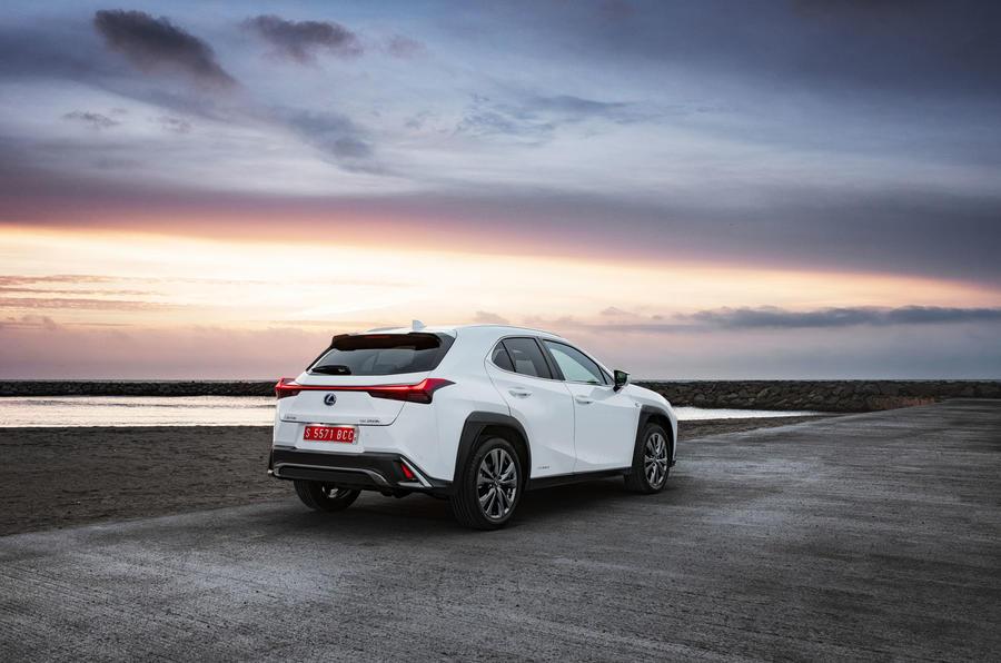 Lexus UX 2019 road test review - static rear