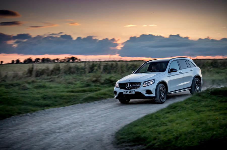 Mercedes-AMG GLC 43 road test review - hero action