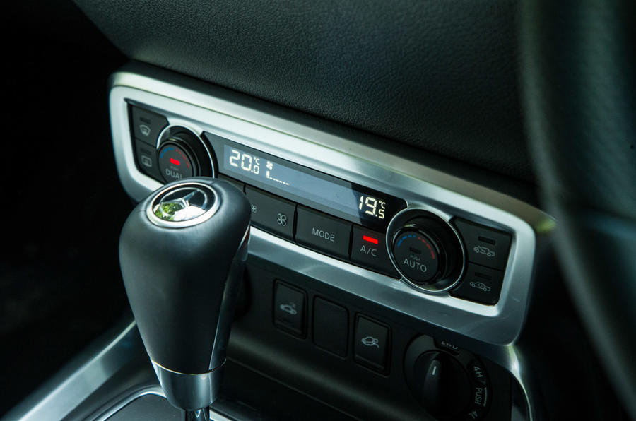 Mercedes-Benz X-Class road test review climate control