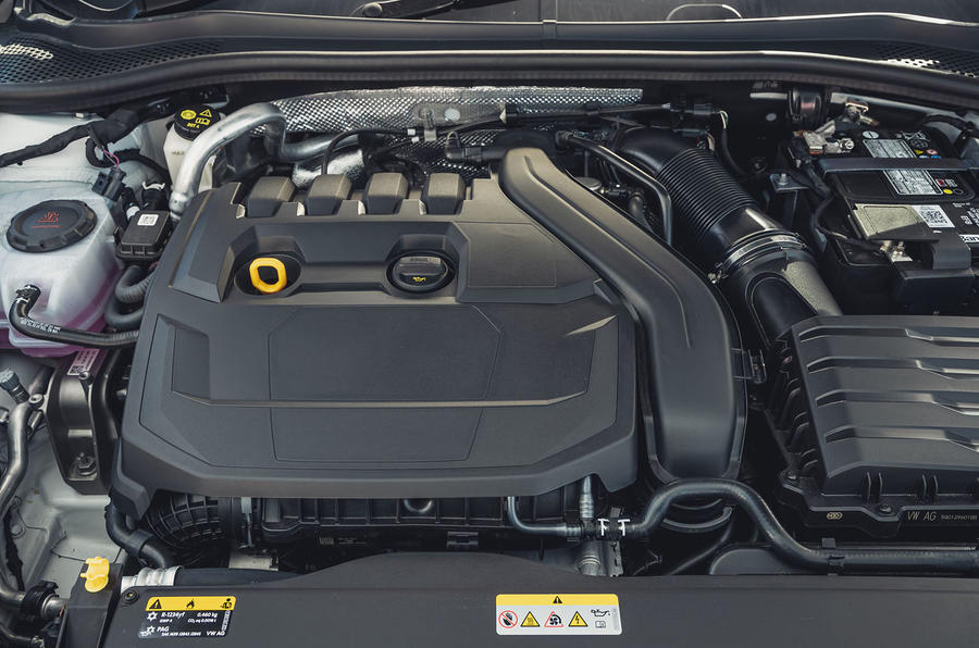 Seat Leon 2020 road test review - engine