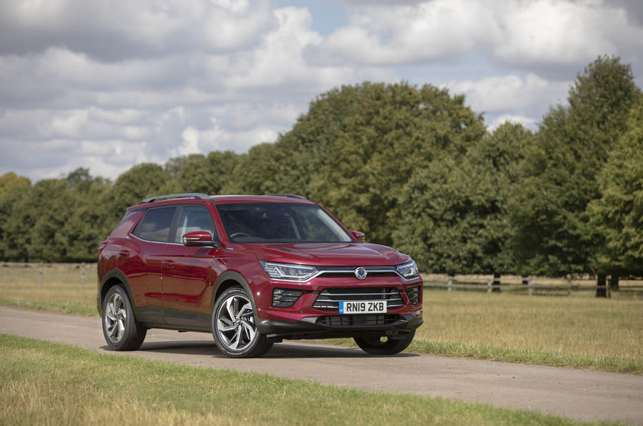 Ssangyong Korando 2019 road test review - static front