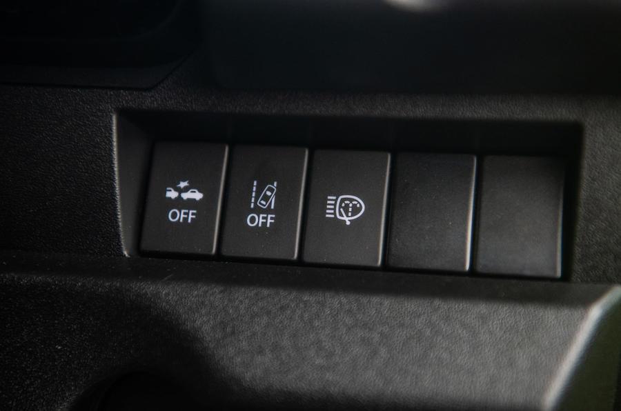 Suzuki Jimny 2018 road test review - safety controls