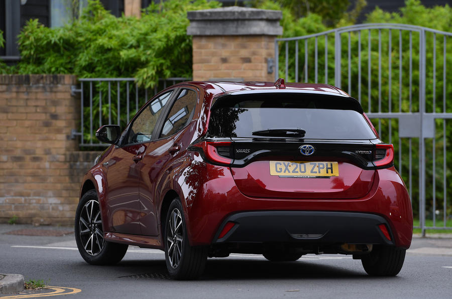 Toyota Yaris 2020 : examen de l'essai routier - les virages à l'arrière