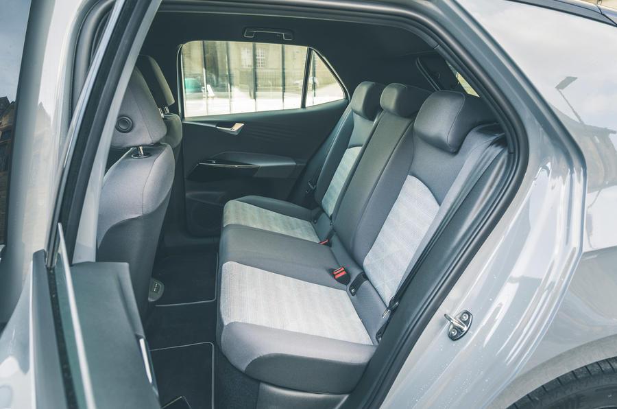 21 VW ID 3 2021 essai routier sièges arrière