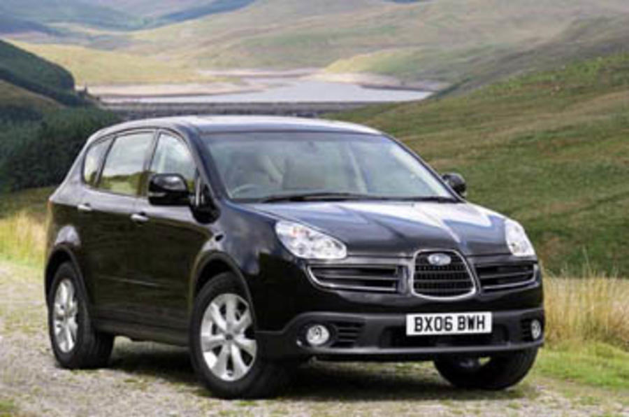 Subaru B9 Tribeca 3 0 Se5 2006 2014 First Drive Review