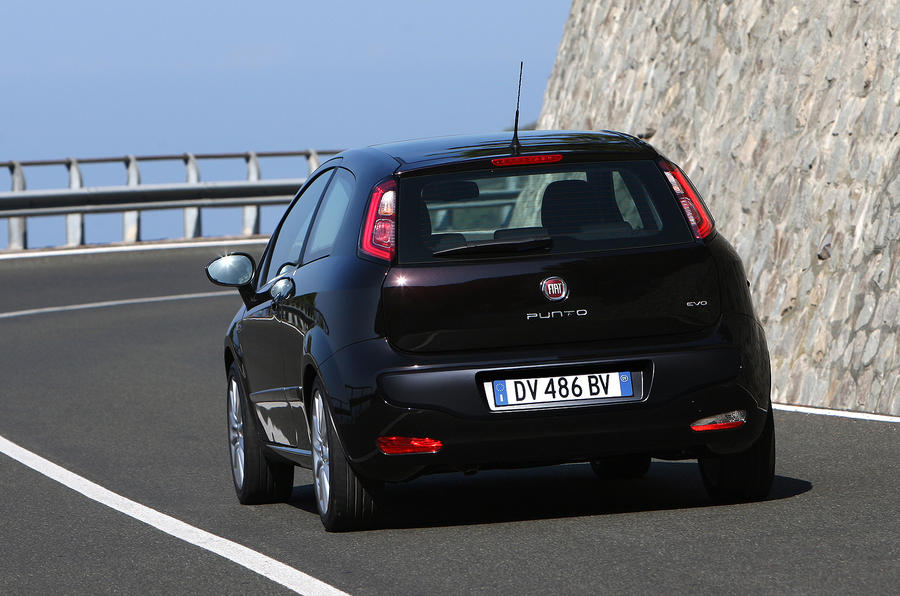 Fiat Punto Evo rear end