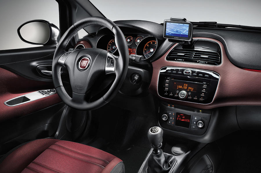 Fiat Punto Evo dashboard
