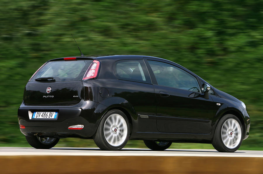 Fiat Punto Evo rear quarter