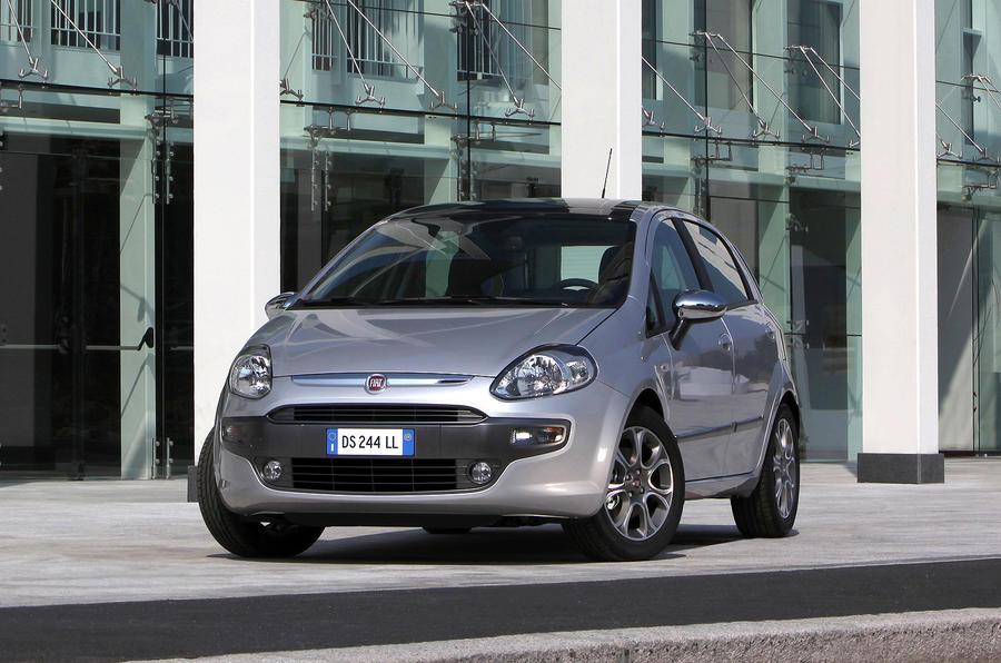 Fiat Punto Evo front quarter