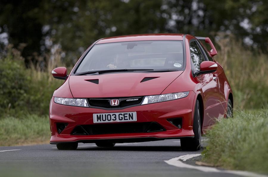 Honda Civic Type R Mugen Concept cornering