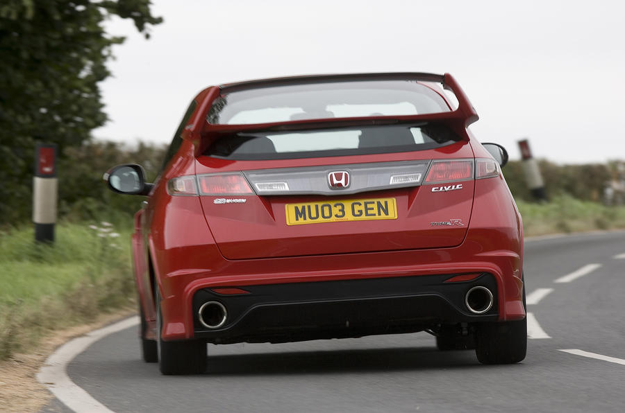Honda Civic Type R Mugen Concept rear cornering