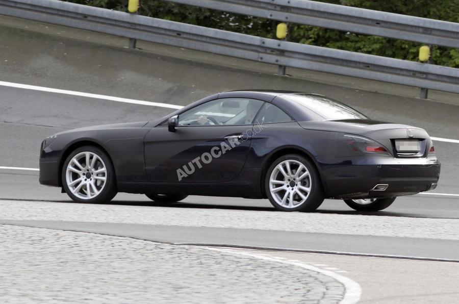 Mercedes SL - latest spy pics