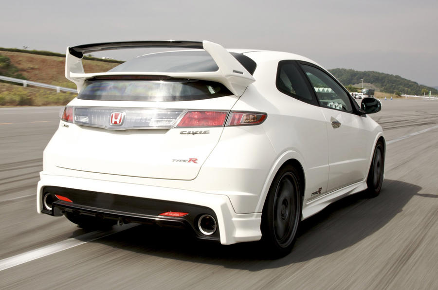 Honda Civic Type R Mugen rear end