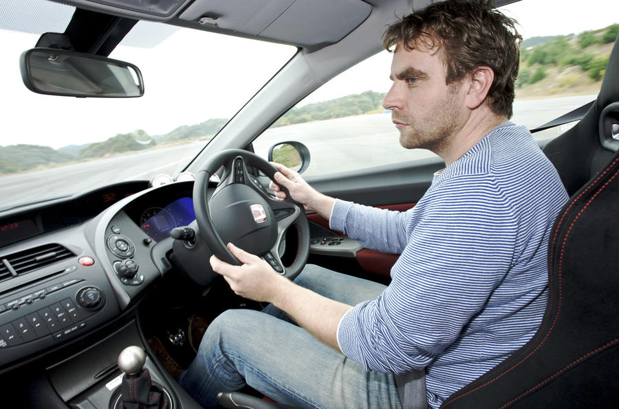 Driving the Honda Civic Type R Mugen
