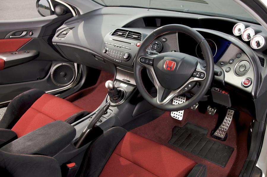 Honda Civic Type R Mugen dashboard