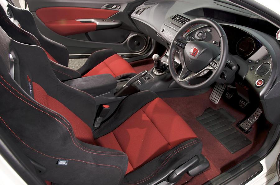 Honda Civic Type R Mugen interior