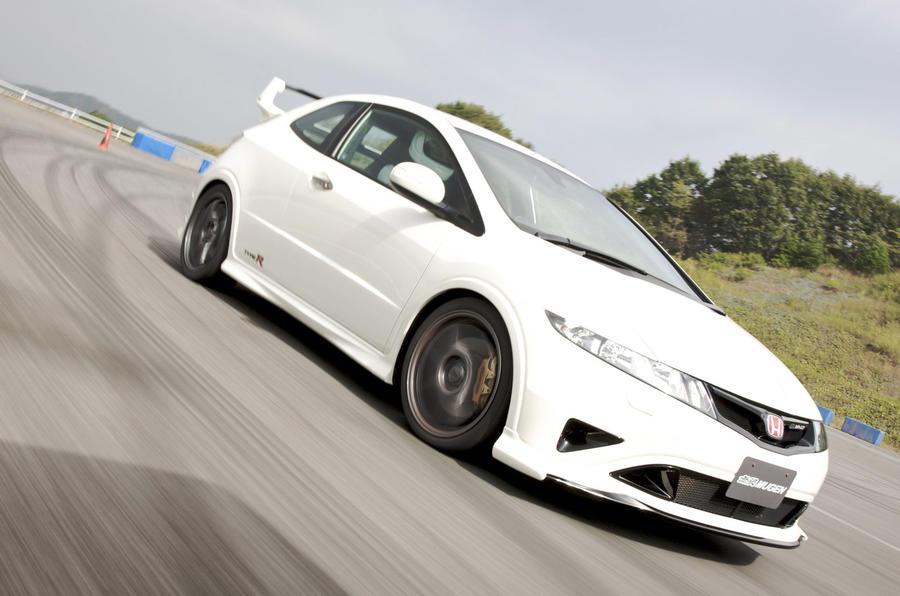 Honda Civic Type R Mugen cornering