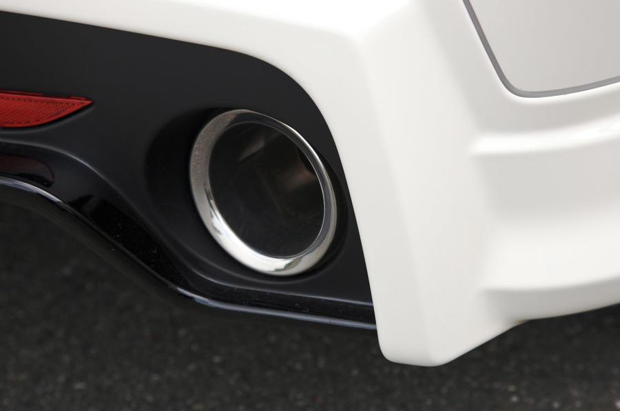 Honda Civic Type R Mugen twin exhausts