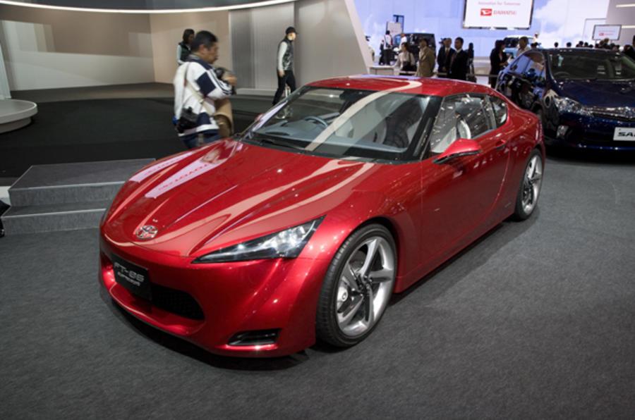 Geneva motor show: Toyota FT-86