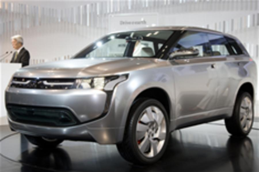 Mitsubishi's new hybrid SUV