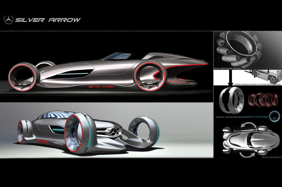 LA show's movie car concepts