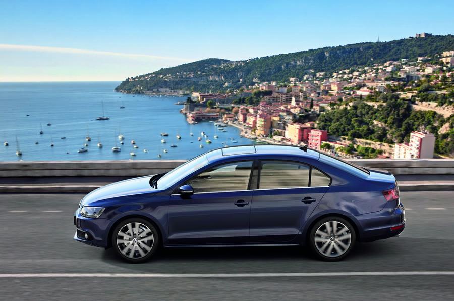 Volkswagen Jetta side profile