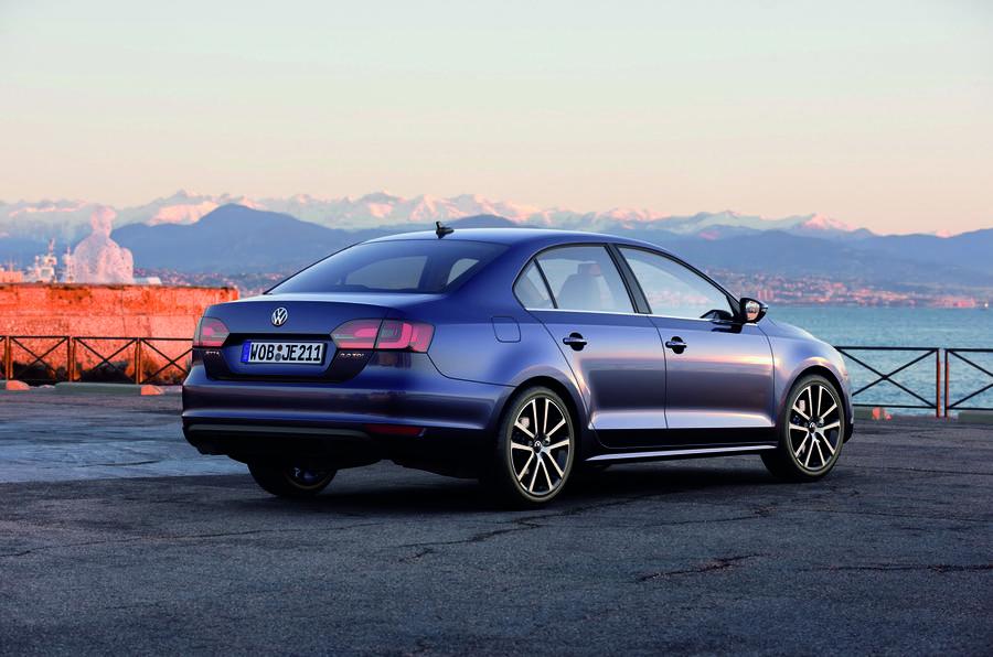 Volkswagen Jetta rear quarter
