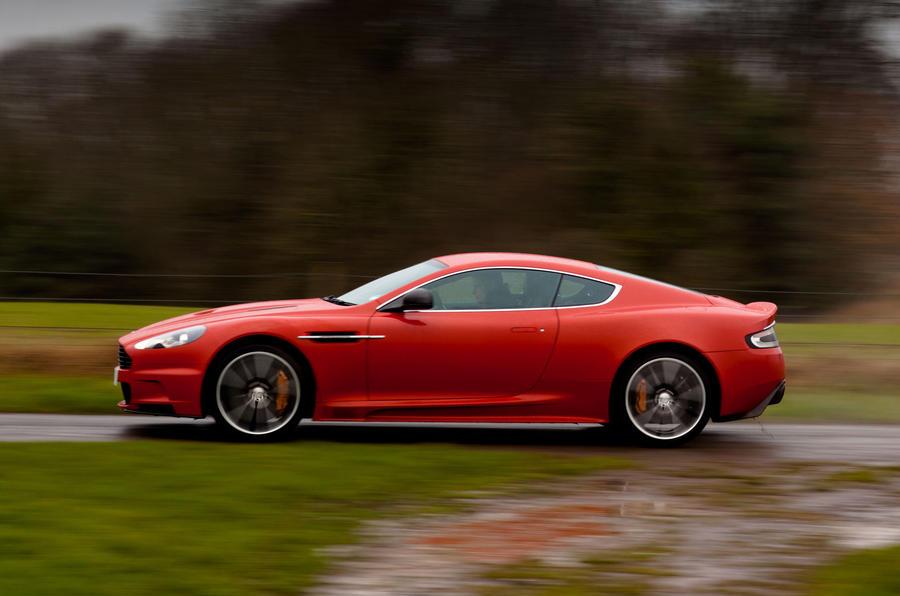 Aston Martin DBS Carbon Edition side profile