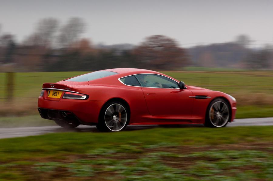 Aston Martin DBS Carbon Edition rear