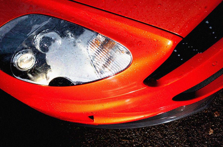 Aston Martin DBS Carbon Edition xenon headlights