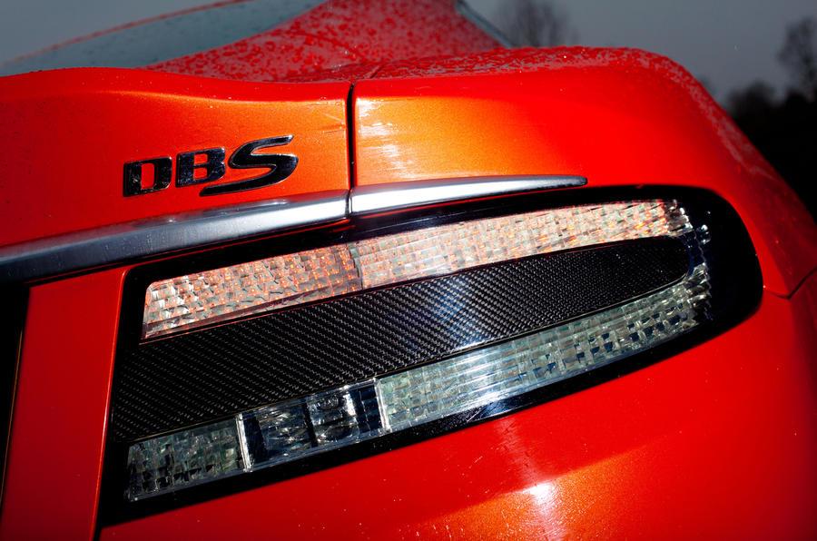 Aston Martin DBS Carbon Edition tailights