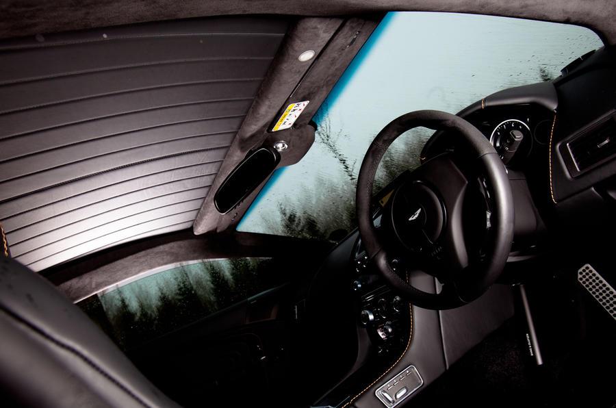 Aston Martin DBS Carbon Edition interior