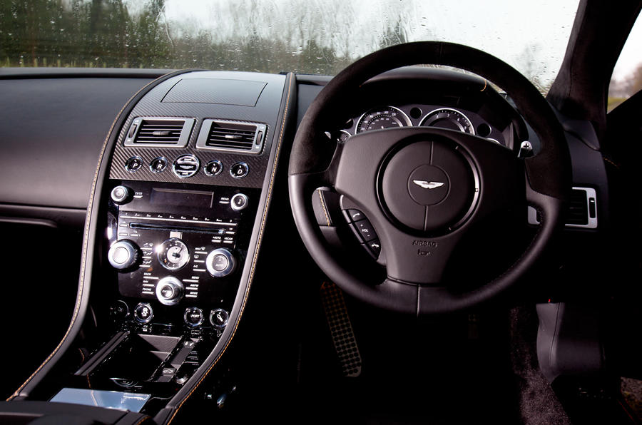 Aston Martin DBS Carbon Edition dashboard